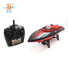 2018 newest 2.4G RC boat 180 degree flip 25km/h high speed boat