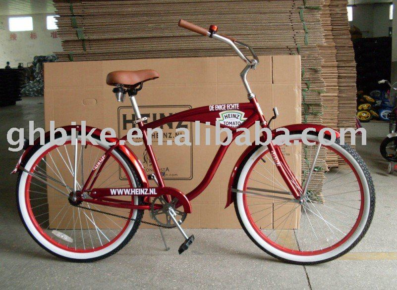 26 inch new model men beach cruiser bike promotion bike gift bike bicycle