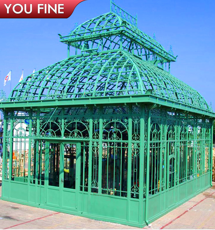 Garden Decorative Wrought Iron Gazebos for Sale