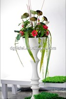 indoor stand vases with colorful making flowers