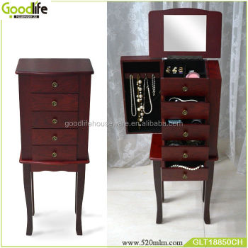 Popular living room furniture wood cabinet corner from goodlife