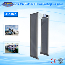 Walk Through Security Metal Detector Column Shape Door Frame Archway Metal Detector