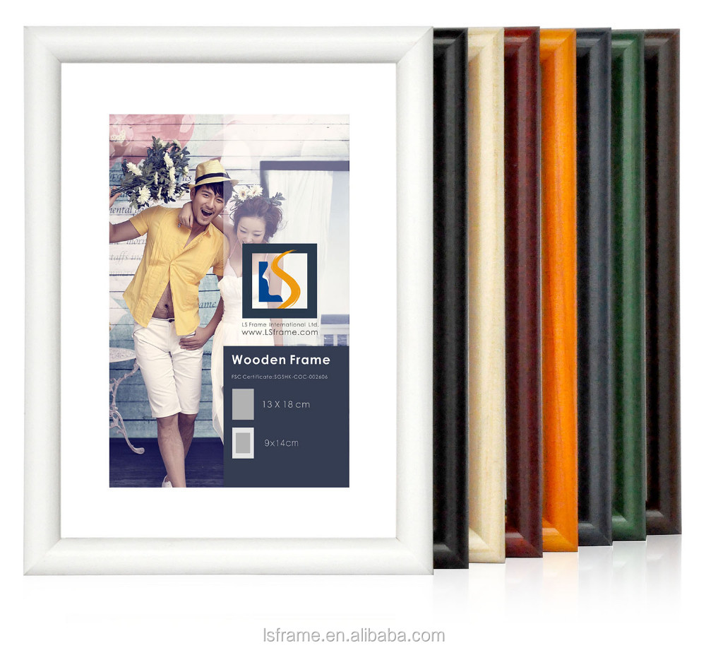 Wooden Contemporary Home Decorative Picture Frames