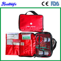 Muti-use hand carry office home family traivel school camping car First aid kit