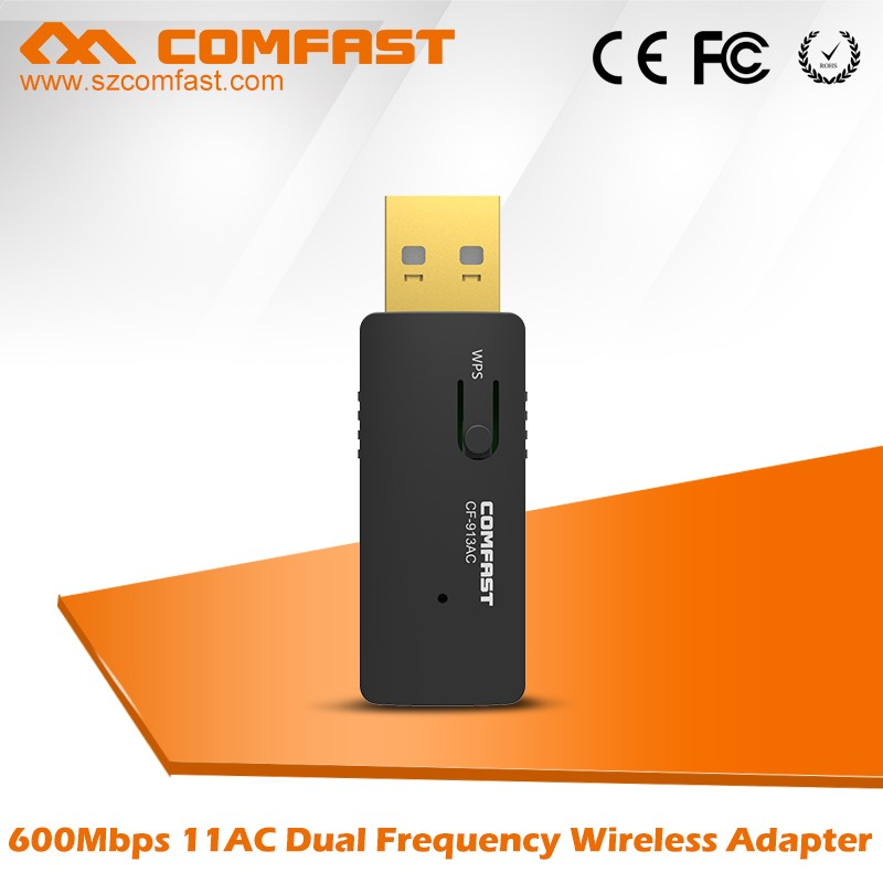 COMFAST CF-913AC 2.4Ghz/5.8Ghz Wireless USB Network Adapter with DHL Shipping