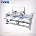 Fuwei Hot sale big size computerized two heads cap embroidery machine with good price
