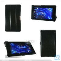 factory price hot sell three fold Slim Leather Case For Google Nexus 7 2 ii Inch Android Tablet P-GGNEXUS7IICASE015