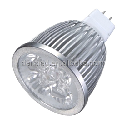 UL DLC Epistar chip mr16 led 9w 3x3w 12v warm white spotlight