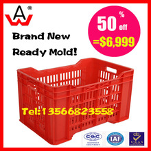 plastic injection crate second hand <strong>mould</strong> for sale
