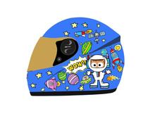 YM-205 kids cartoon full face motorcycle helmet children toy helmet