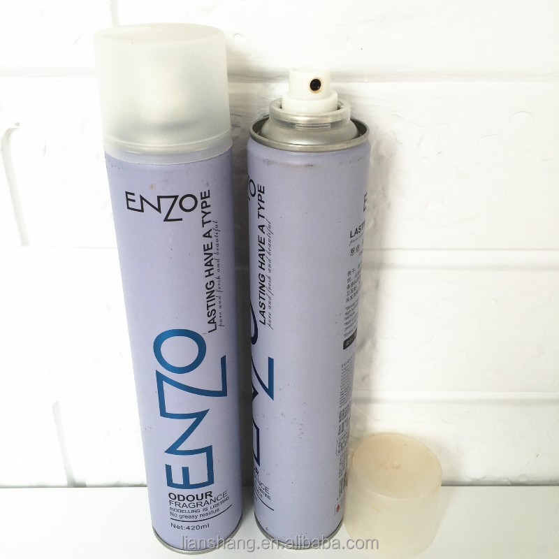 enzo professional beauty hair care products styling hair spray oem/private label