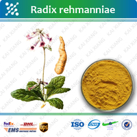 HIGH quality Factory supply 100% Natural Radix Rehmannia powder extract