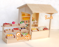 Doll house Miniature DIY Shop Display Boutique WH026