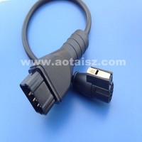 Universal 12P Renault Heavy Vehicle Diagnostic Cable