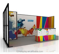 New arrival reusable modular tradeshow booth 3x6