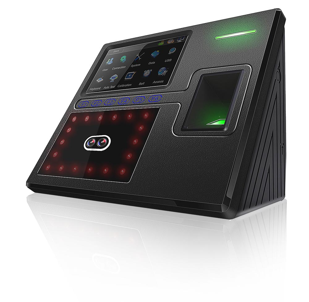 Face402 Multi-Biometric Time Attendance with Access Control Terminal