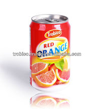 Red Orange Juice Drink from Trobico Brand