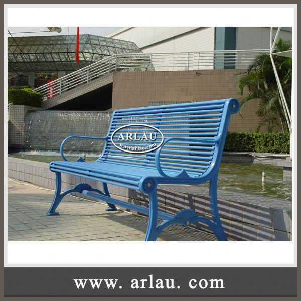 Arlau Popular Outdoor Bench Designs,Garden Outdoor Corner Bench,Public Seating Outdoor