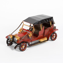decorative metal vintage car models for sale