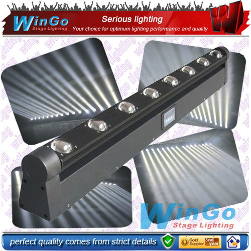 8x10W RGBW 4in1 LED bar beam moving wall washer