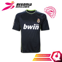 Mesh Fabric Belgium Football Jersey Madrid Football Jerseys