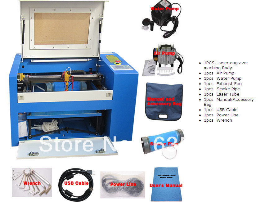 engineer overseas available wood and acrylic laser engraving machine