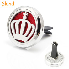 For air conditioner steel Perfume Scent Car Diffuser 30mm