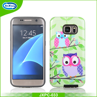 Lastest 2 in 1 customize mobile phone case for samsung galaxy S7