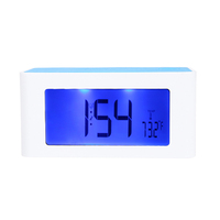 Wireless Inductive Speaker Sound Box FM Radio Digital Clock Alarm for iPhone Samsung Smartphone