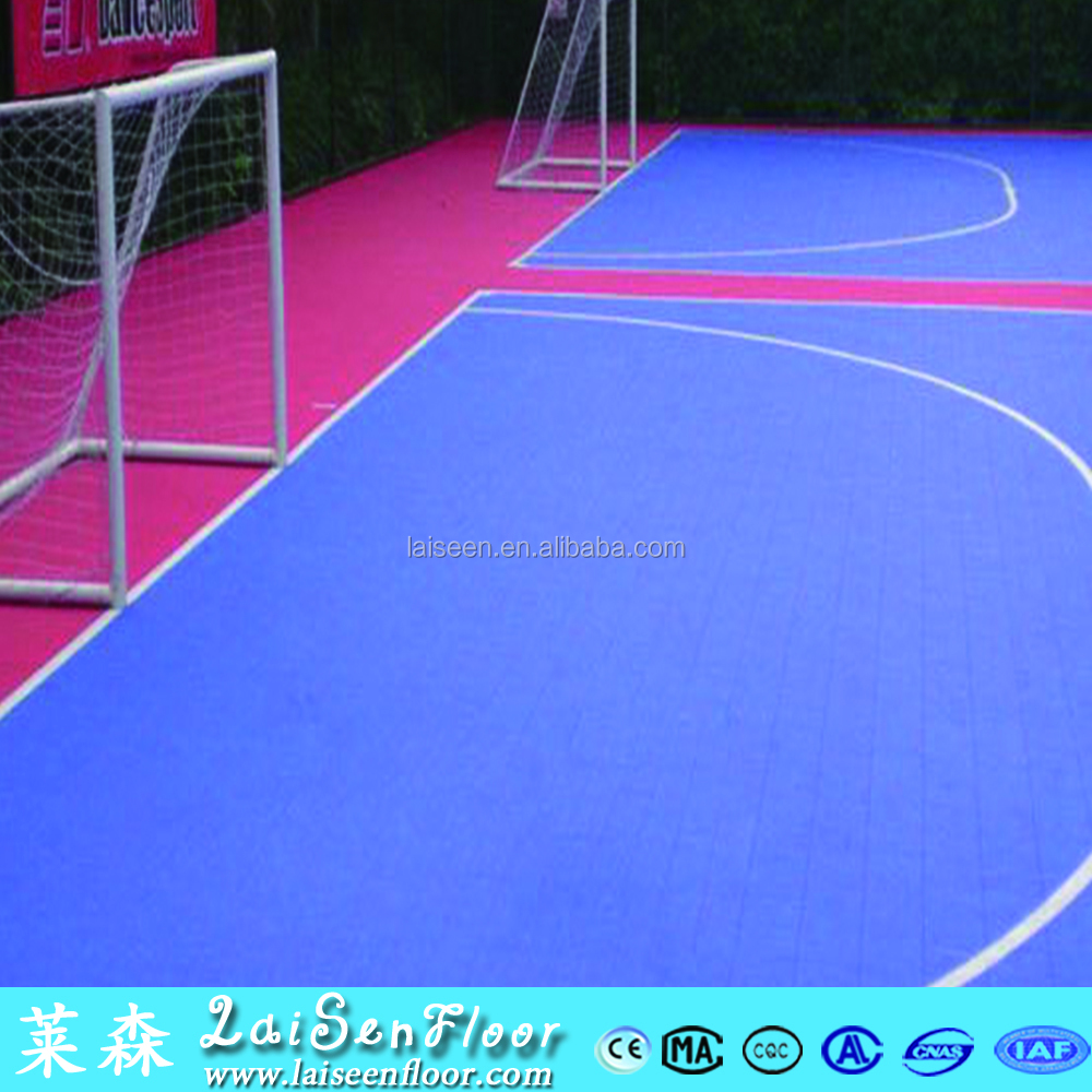 Hot Sale Popular Multi-use Excellent modular tile Suspended Indoor PP Interlocking Sports Futsal Flooring