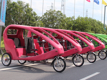 Electric Auto Rickshaw Tricycle Made in China