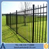 Short Picket Fence For Garden/White Wrought Iron Fence /High-powered Steel Fence