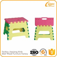 Economical custom design wholesale kids plastic stool