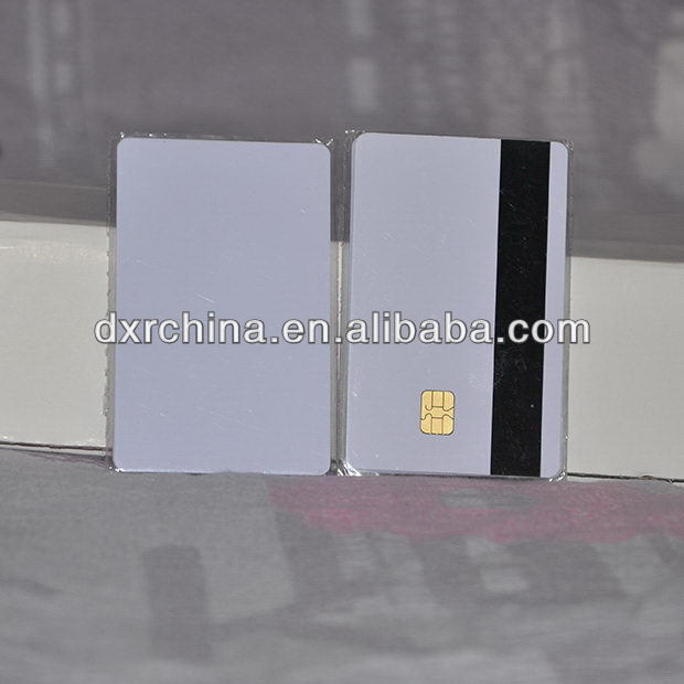Top quality newest lris2k hico plastic card dual smart