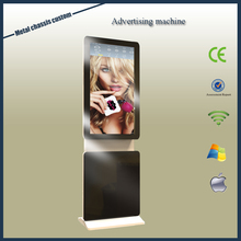 42inch new condition Wifi/3G/4G easy operated rotating metal frame advertising player oem vending kiosk custom ad player factory
