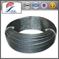 Galvanized Steel Wire Rope 7X7 6mm