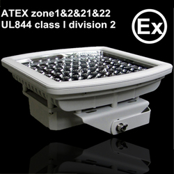 ATEX zone 1&2 UL844 class I division 2 explosion proof led flood light 70W