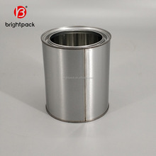 4 Liter plain empty Cans For Packaging Engine Oil, paint and lubricant, metal container