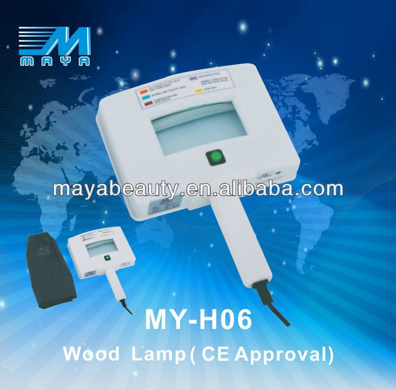 Hot saleing portable MY-H06 Facial Skin Testing Analyzer Magnifying Woods Lamp Equipment(CE certificated)