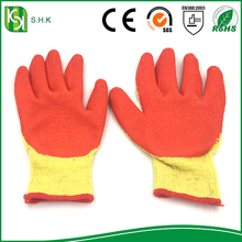 Rubber Latex Coated Cotton Gloves Work Hand Gloves Labor Safety Gloves