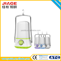 JIAGE energy saving emergency camping rechargeable led hanging lantern