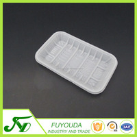 Disposable clear PP plastic 1912 blister tray for fruit and vegetable tray