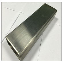 hairline polish surface welded stainless steel rectangular tube 316