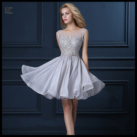 short style gown designer one piece korea style party dresses