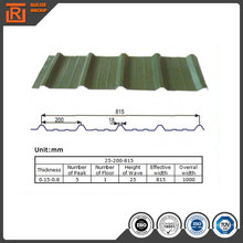 0.2 mm 0.3mm thin galvanized metal sheet, colored steel coil, color coated corrugated roofing panels 3 meters