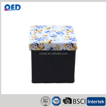 Customizable folding Storage Bench Supplier black folding table single seat bench