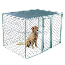 high quality galvanized chain link fence in dog kennel