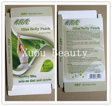 100% All herbal original ABC slim belly patch nature slim patch, slimming patch for fat 2012
