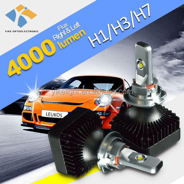 car led headlamp for luces led para autos h7