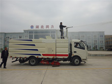 Manufacture sweeper cart DFAC 4x2 mechanical road sweeper 008615586887678